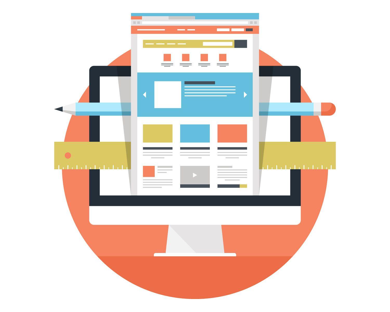 ウェブサイト制作のイメージ